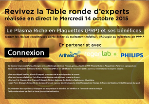 revivez la table ronde d'expert en injection prp